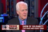 Cornyn: Terror threat in US has morphed