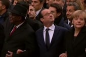 US leaders absent from Paris rally