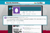 CENTCOM uses Twitter to log attacks on ISIS