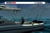 Former NFL-er survives shark-infested waters