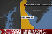 Security scare at Delaware air base