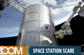Space station scare likely 'false indication'