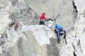 El Capitan free-climbers inch toward history