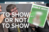 Charlie Hebdo cover: To show or not to show