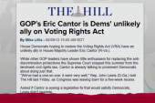 No Voting Right Act fix from new GOP Congress