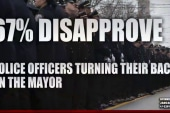 Poll: Little support for NYPD back-turning