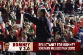 Romney faces harsh skepticism from his party