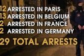 Europe cracks down on suspected terror cells