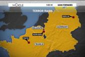 Arrests across Europe in anti-terror raids
