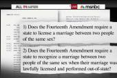 Supreme Court takes same-sex marriage case