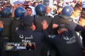 Charlie Hebdo protests turn violent
