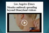 Measles outbreaks spreads