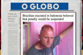 Brazil 'outraged' after citizen executed