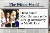 Controversy over Miss Universe selfie