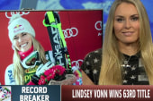 Lindsey Vonn breaks World Cup wins record