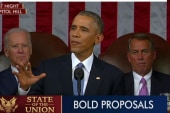 Obama strikes defiant tone during SOTU