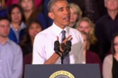 Confident Obama makes red state tour