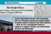 No charges for Ferguson police officer: NYT