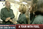 Flashback: A tour with Fidel Castro