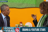 Obama interviewed by YouTube stars