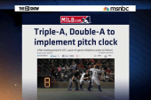 Minor league baseball adds pitch clocks