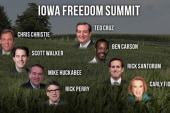 Republican stars gather in Iowa