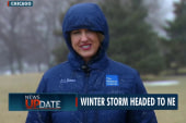 Blockbuster winter storm heading East