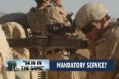 Should military service be mandatory?