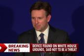 Suspicious device found on White House...