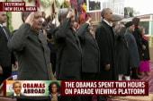 President Obama makes history in India