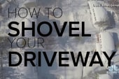 Shoveling your driveway could be so much...