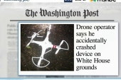 Drone accidentally crashed on WH grounds