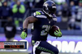 Lynch avoids NFL fines with short answers