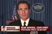 Pentagon: Bergdahl deserves due process