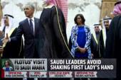 FLOTUS' visit to Saudi Arabia draws attention