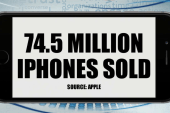 Apple iPhones power record sales