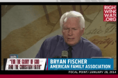 Bryan Fischer fired ahead of RNC Israel trip