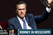 Romney steps back onto the national stage