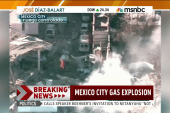 Gas tank truck explodes in Mexico City
