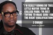 2 Chainz mulls mayoral run