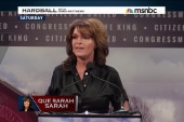 Is Sarah Palin rearin' for a comeback?