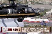 Feds go all out for Super Bowl security