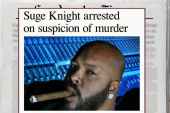 Hip hop mogul arrested on suspicion of murder