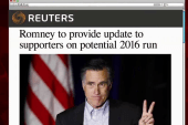 Romney to discuss 2016 plans on Friday