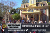 CDC warns measles outbreak a 'wake-up call'
