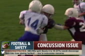 Study links youth football to brain problems