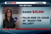 Sarah Palin now a Hillary PAC supporter?