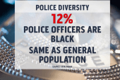 Police depts. try to improve racial disparity
