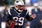 Football star talks helmet safety, Super Bowl