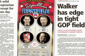 Scott Walker leads Iowa poll